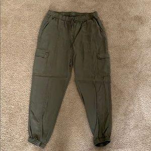 Green Cargo Pants, Like New